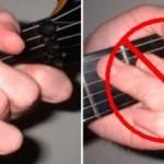 Những sai lầm thường mắc phải trong việc học bấm hợp âm guitar