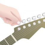 Cách thay dây đàn guitar điện