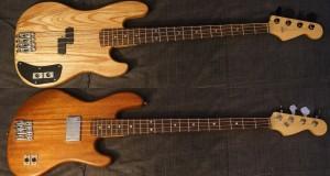 Các loại gỗ thường dùng làm thân đàn Guitar điện