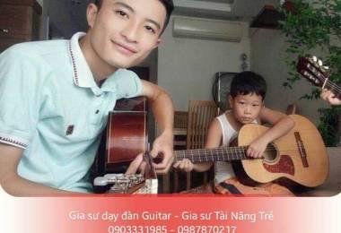 Cần học đàn Guitar tại quận 10