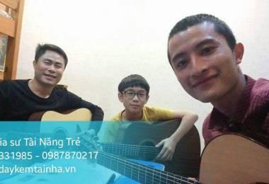 Cần học đàn Guitar tại quận 12