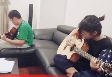 Cần học đàn Guitar tại quận 6